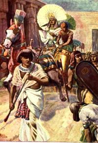Joseph is exalted
