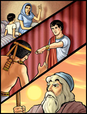 Moses timeline