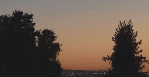 Yom Teruah, new moon
