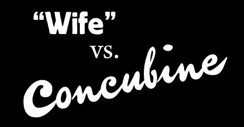 concubine, concubine vs wife, Hagar, Katurah, Bilhah, Zilpah, Genesis 16 1, Genesis 25, Genesis 35 22,