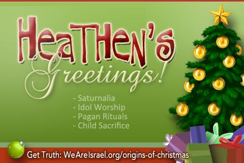 Origins Of Christmas, Christmas Origins, Pagan Root Of Christmas, Holidays  Or Holy Days .