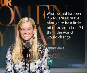 Reese Witherspoon's full speech at the 2015 Woman of the Year Awards