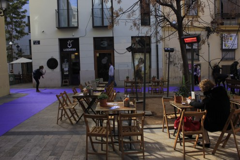 Cafe at mercado de tapineria