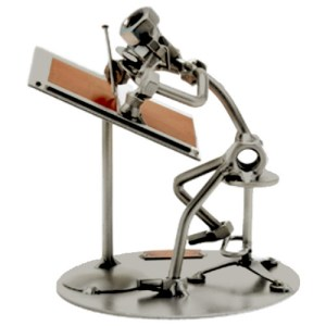 figurine métal