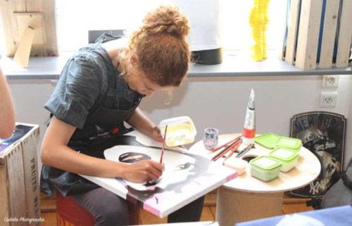 Jesse, artiste peintre