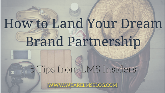 How to Land Your Dream Brand Partnership