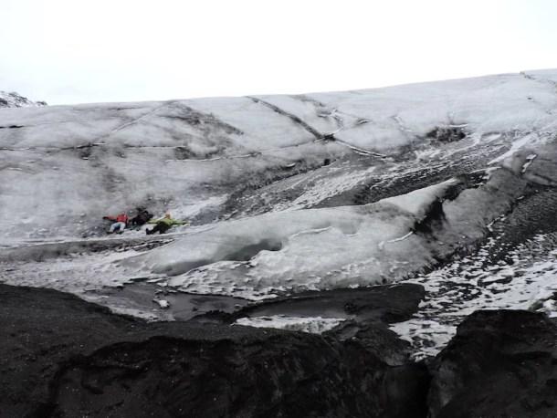 Sólheimajökull glacier lingua