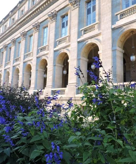 Il centro di Bordeaux è curato e accogliente