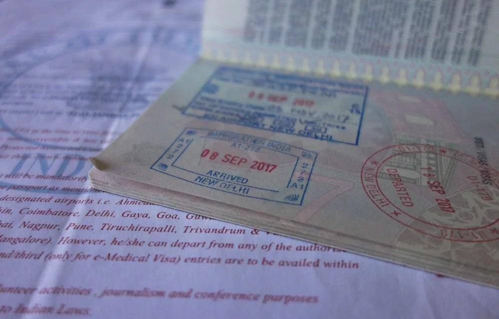 il visto per l'india ottenuto con la procedura on line (e-visa)