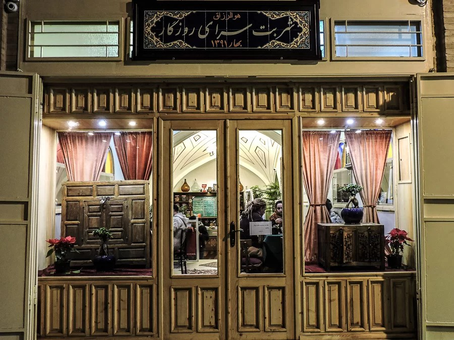 Il Roozegar Cafe di Isfahan