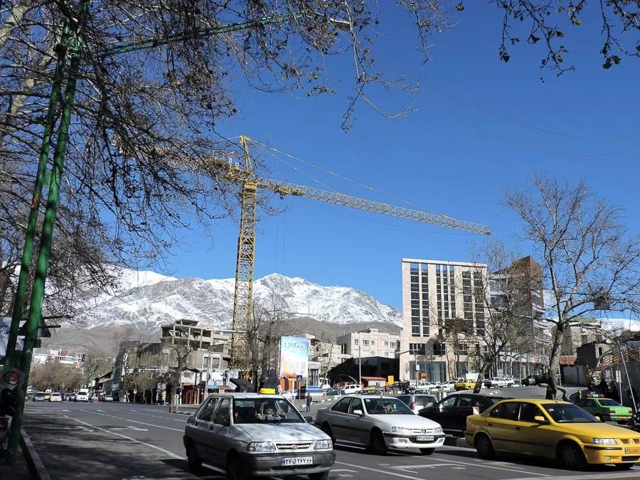 Monti Elbruz Teheran
