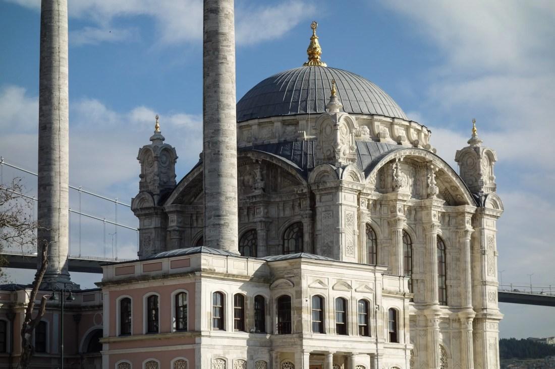 La moschea di Ortakoy, un dettaglio