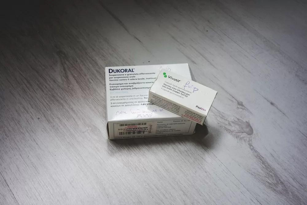 Vaccini Internazionali: Vivotif e Dukoral