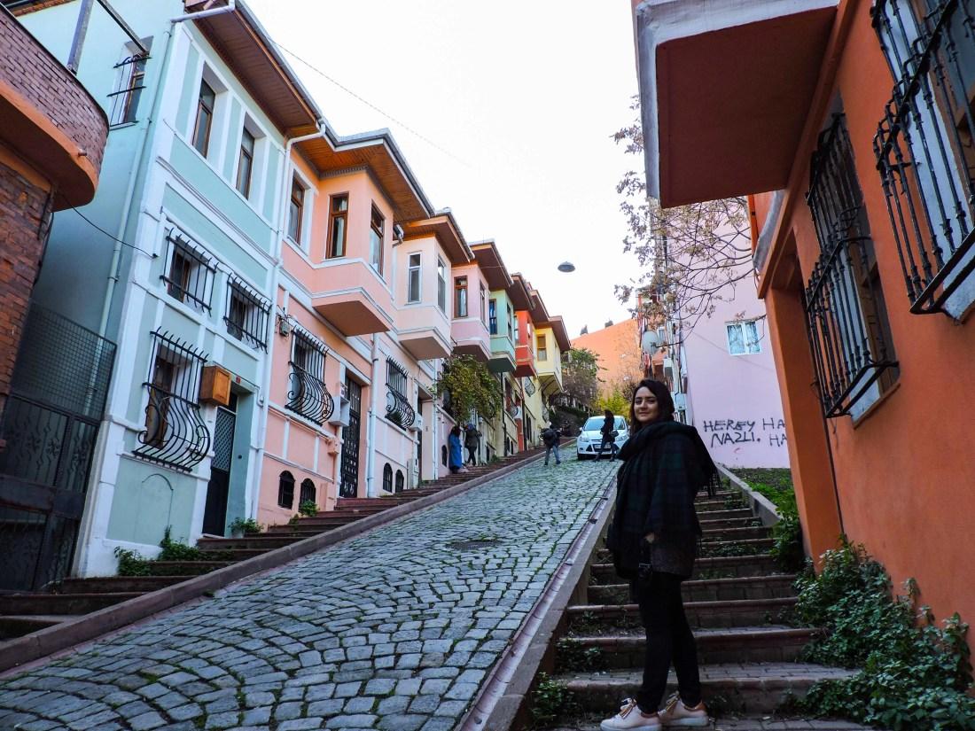 Le case colorate del quartiere Balat