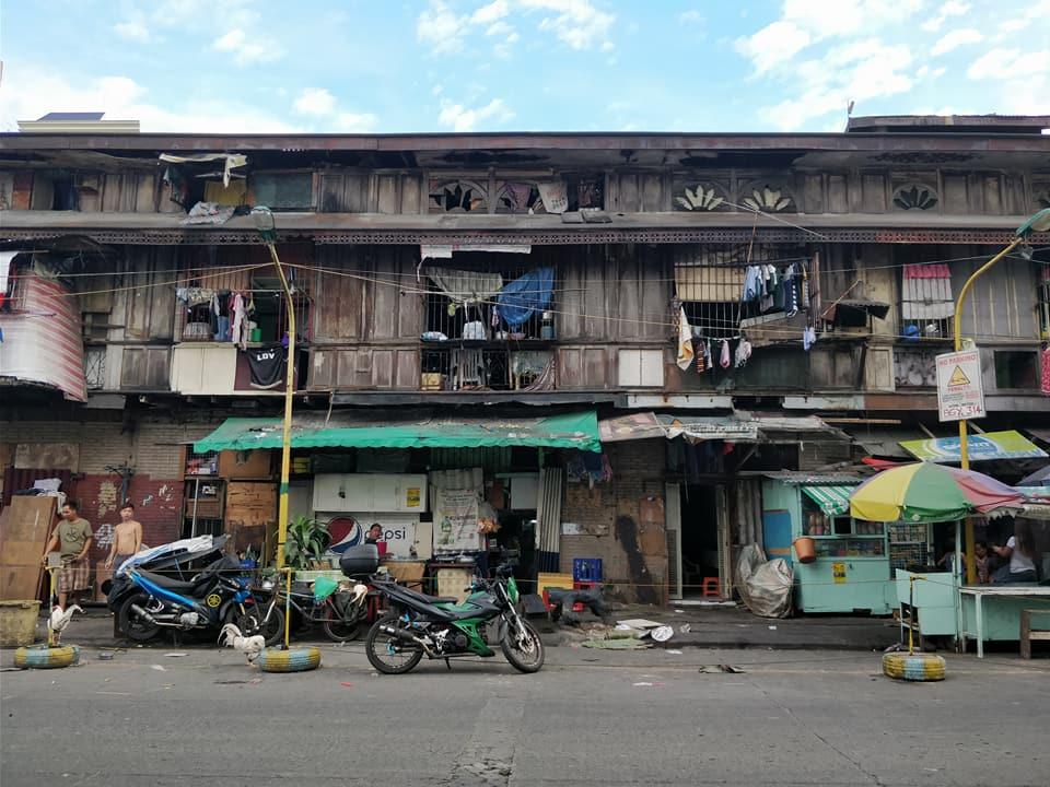 Tra i quartieri poveri di Manila nei pressi di Bindondo, il quartiere cinese