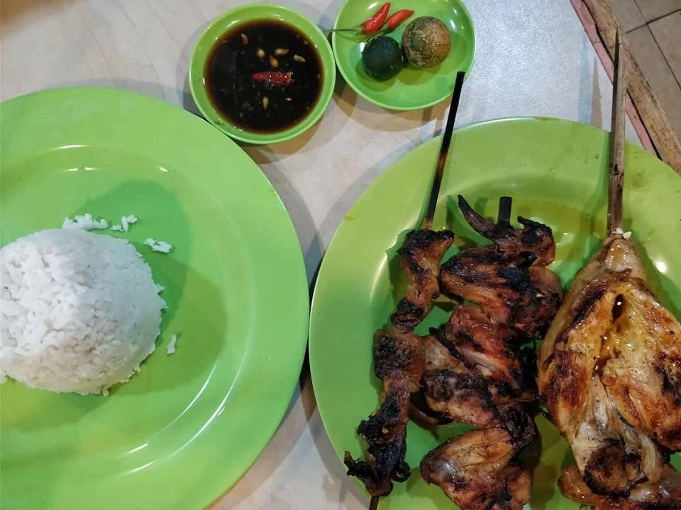 chicken inasal da aida a Bacolod