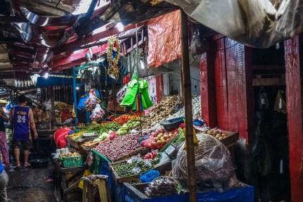 il lapaz market a ilo ilo nelle filippine