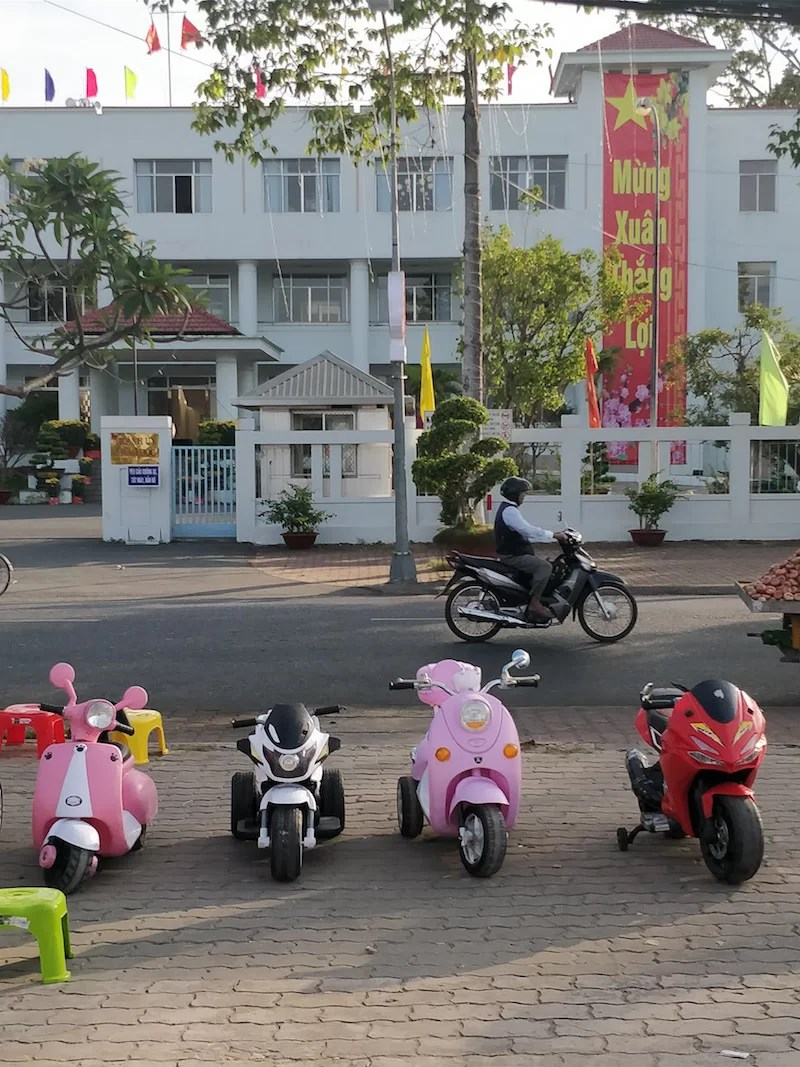 Motorini in Vietnam