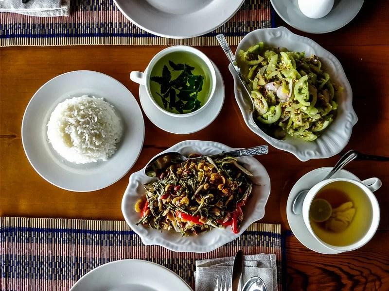 Tea leaf salad, Myanmar