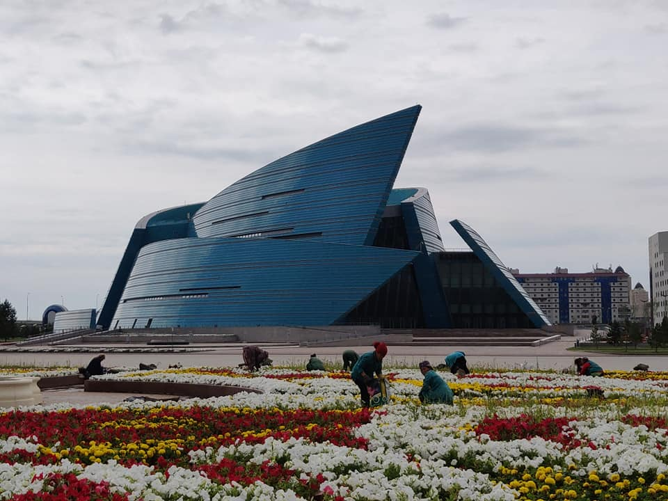 La sala concerti del Kazakistan ad Astana