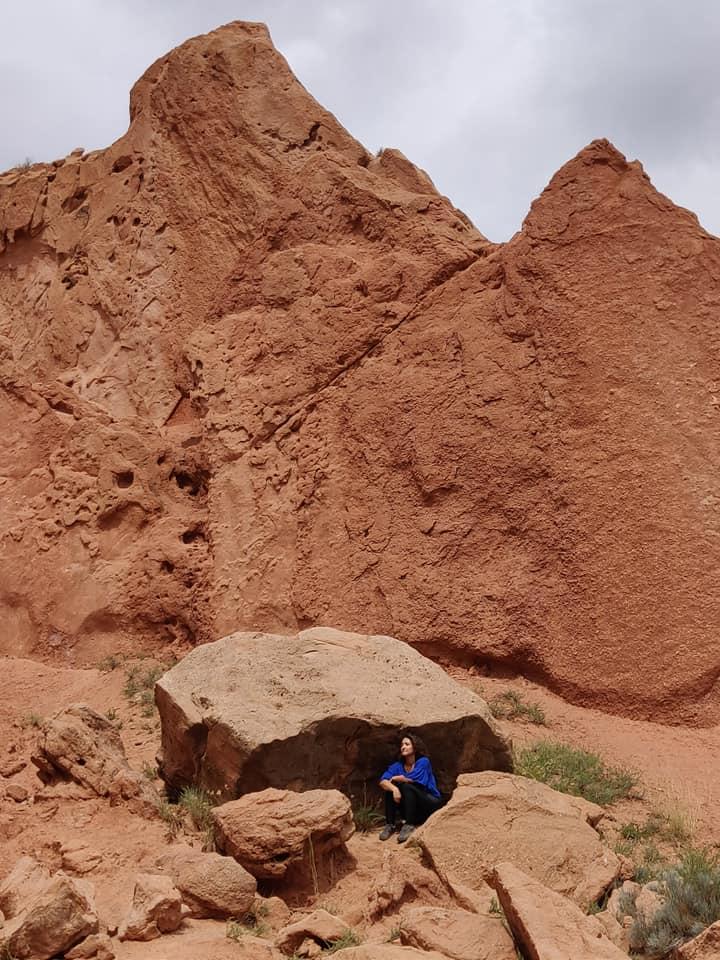 Le rosse rocce dello Skazka Canyon