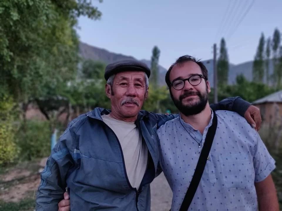 Un fan kirghiso del Commissario Cattani (aka Michele Placido ne La Piovra)