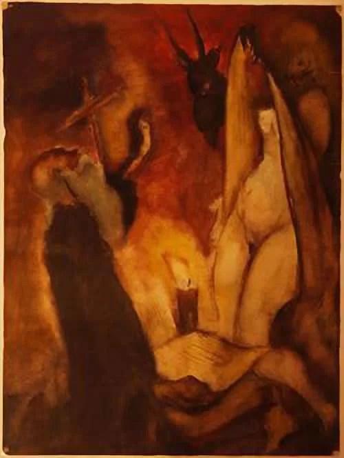 Tarasov, St. Anthony Temptation al Museo Savitsky a Nukus