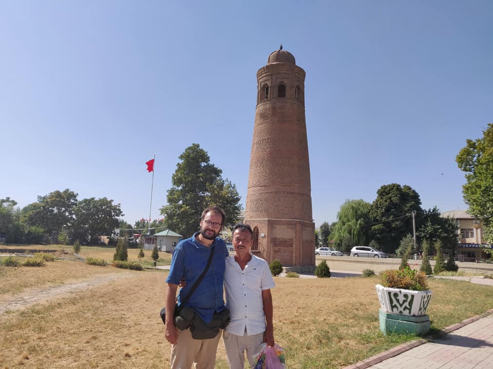 Nigmat, un uzbeko ad Uzgen