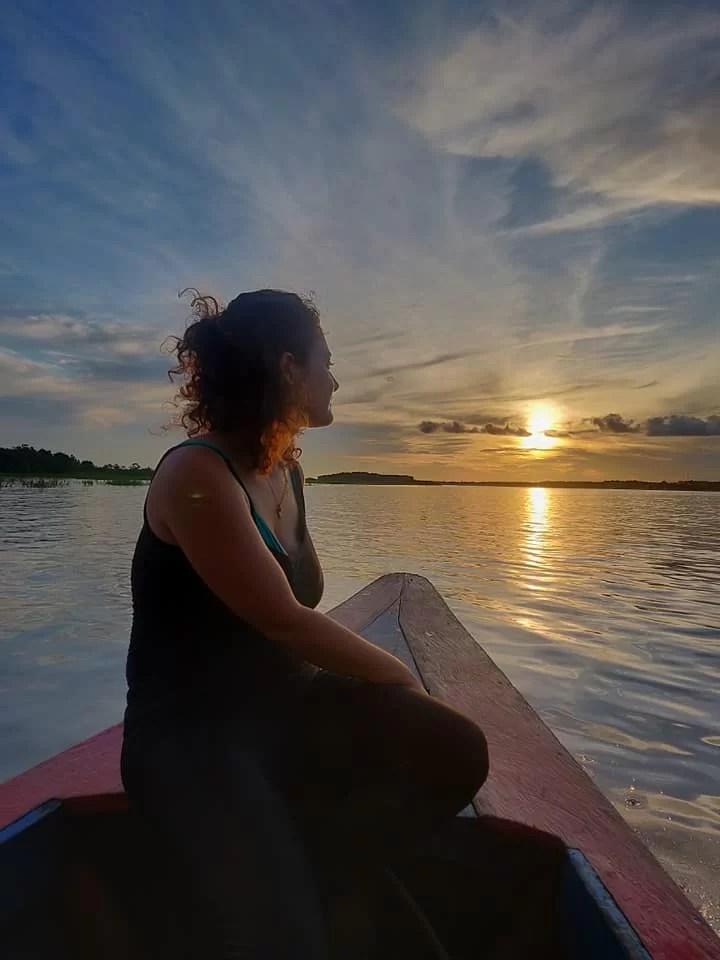 Il Rio delle Amazzoni in tutto il suo splendore nei pressi di Iquitos