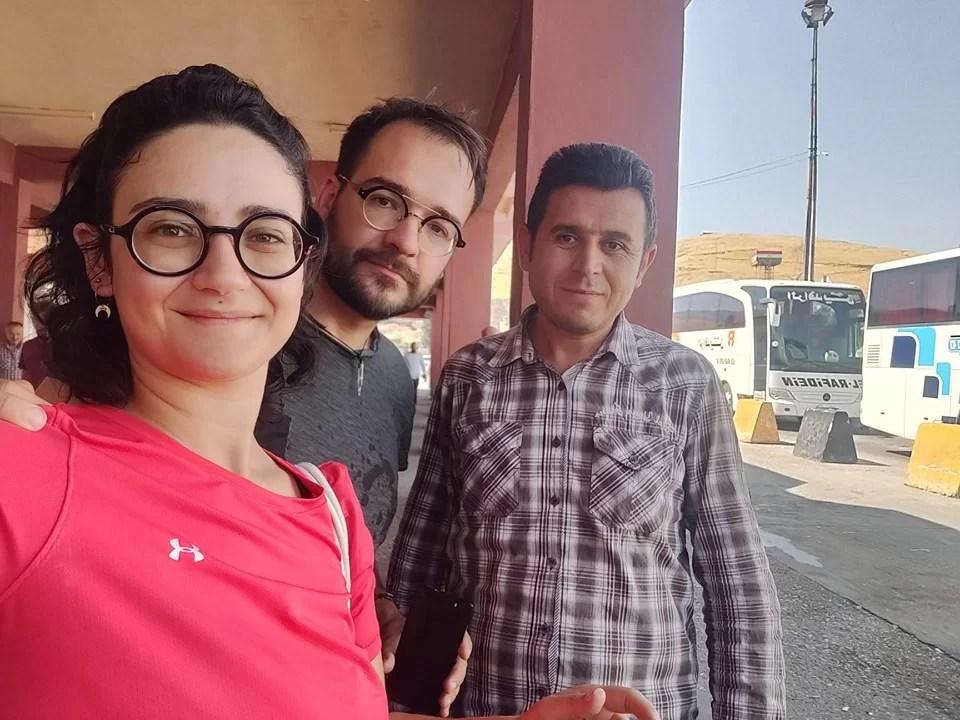 foto al confine con Ahmet
