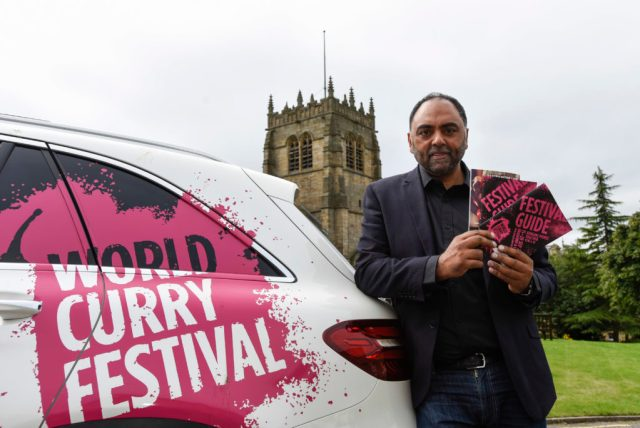 Picture by Darren O'Brien/Guzelian Picture shows Zulfi Karim, World Curry Festival Launch 2016, Kala Sangam, Bradford. PICTURE TAKEN 05/09/2016