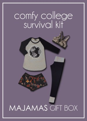 MAJAMAS Gift Box_Comfy College Survival Kit 2017