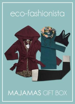 MAJAMAS Gift Box_Eco-Fashionista Fall 2017 Small Edit