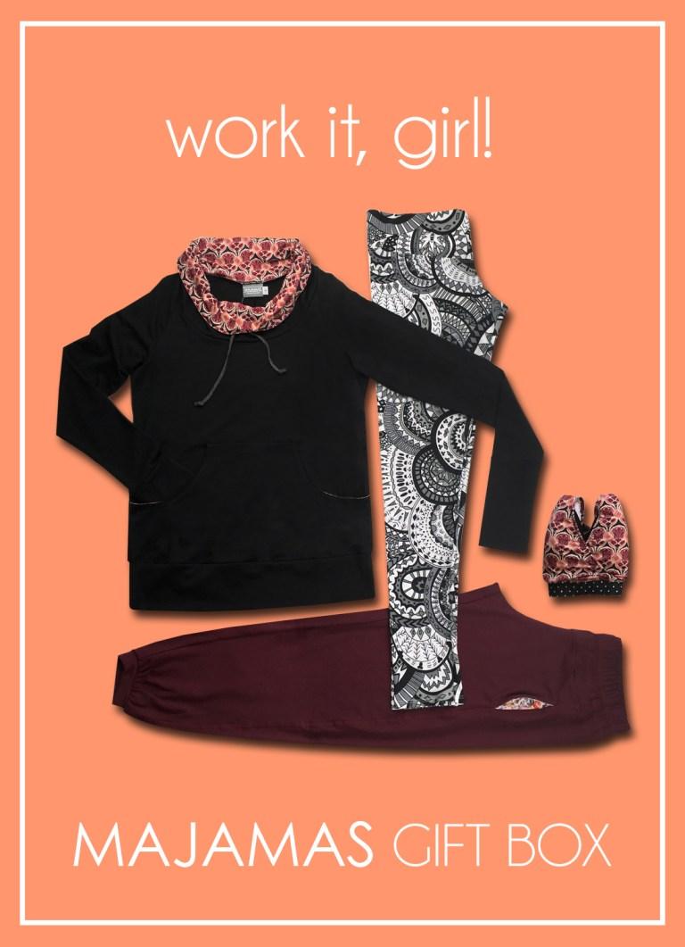 MAJAMAS Gift Box_Work It, Girl