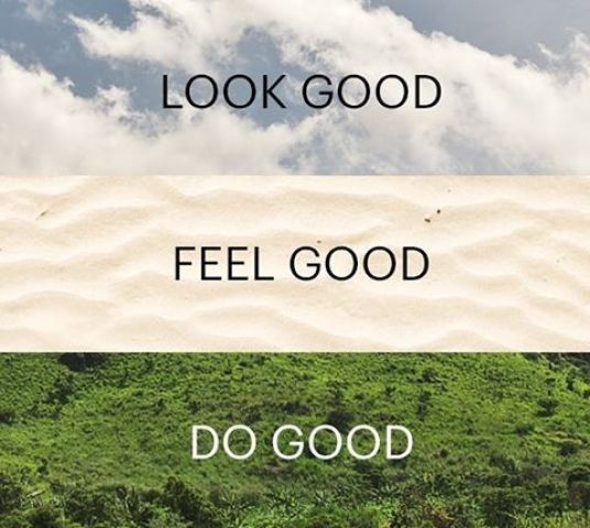 INSTA Look Good Feel Good Do Good Quote