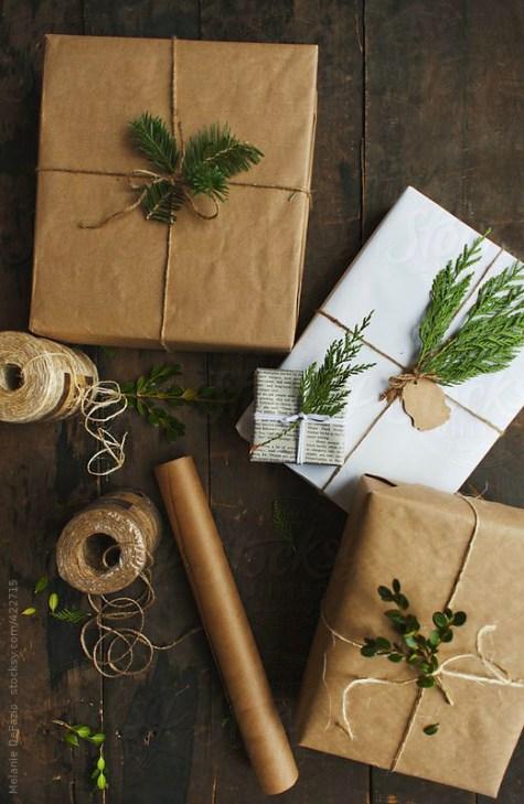 Zero Waste Gift Wrap Craft Paper Pine.jpg
