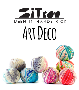 Zitron Art Deco Yarn at Maker's Mercantile