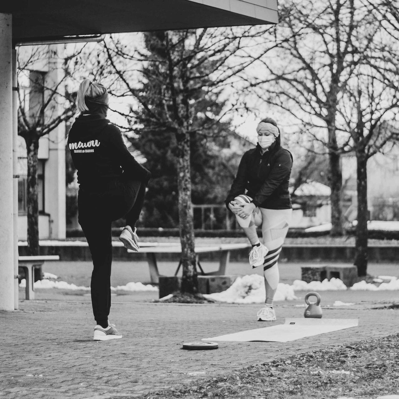 Malou Training and Coaching Outdoor Personal Training Niederbipp an der frischen Luft