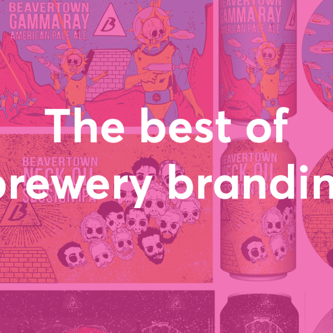 The best of brewery branding