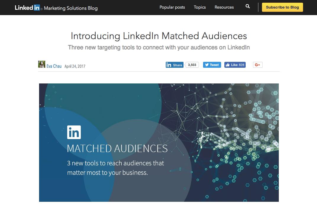 LinkedIn custom audiences
