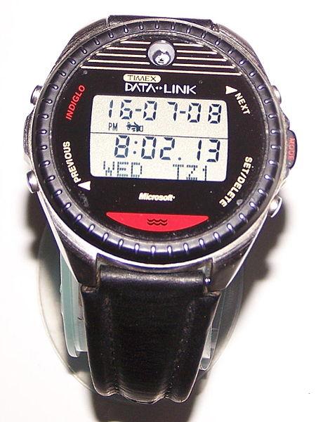première montre connectée Apple
