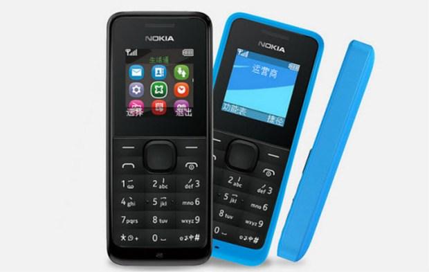 Nokia 105 vendu 20  euros en Chine
