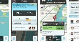 nouvelle application Waze