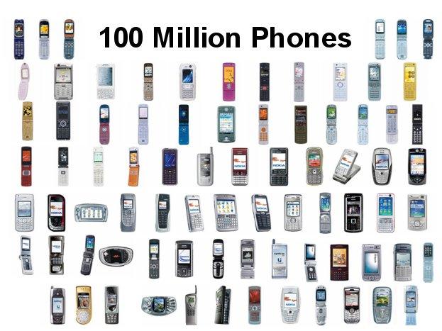 quelques modèles de smartphone sous Symbian