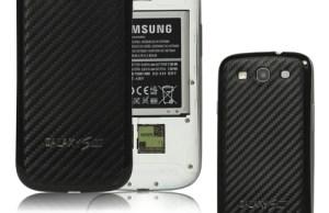 smartphone en fibre de carbone Samsung Galaxy