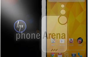 image Photoshop d'un possible smartphone HP