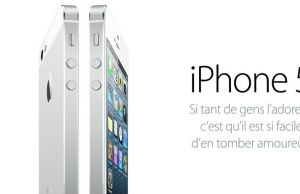 L'iPhone 5 est l'iPhone le plus vendu