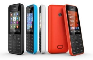 Nokia 208, le mobile idéal pour accompagner votre smartphone