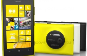 photo presse du Nokia Lumia 1020