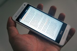 prise en main du HTC One Mini